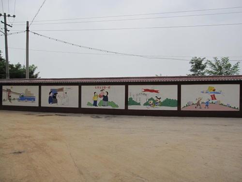 个性创意的墙绘字、彩绘墙是怎么设计出来的?
