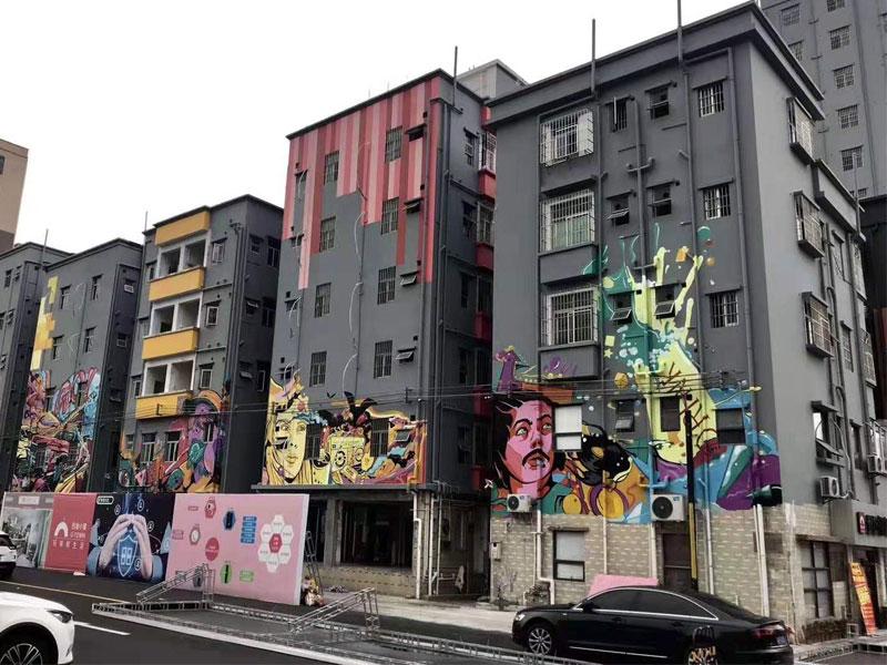 彩绘墙有多少种类