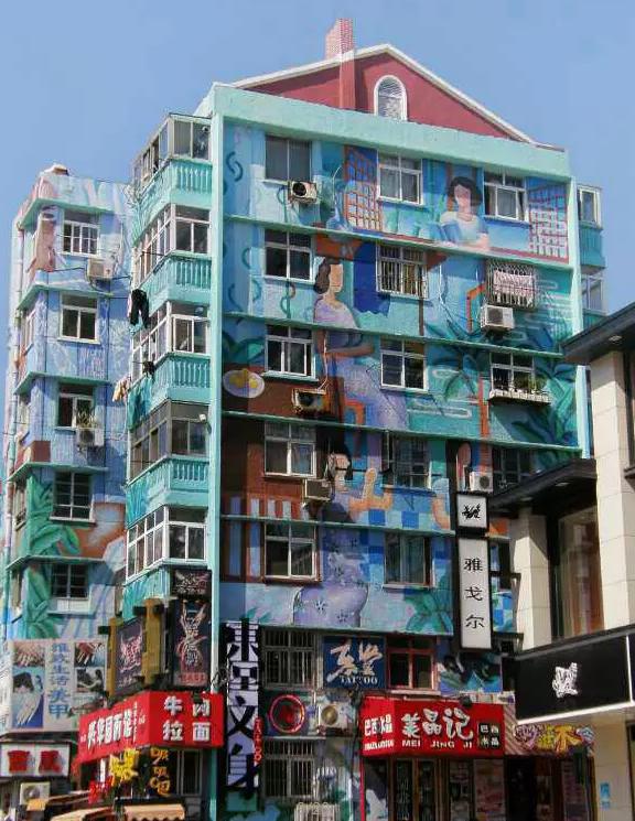 手绘墙画按照面积算价格    收费是否合理?