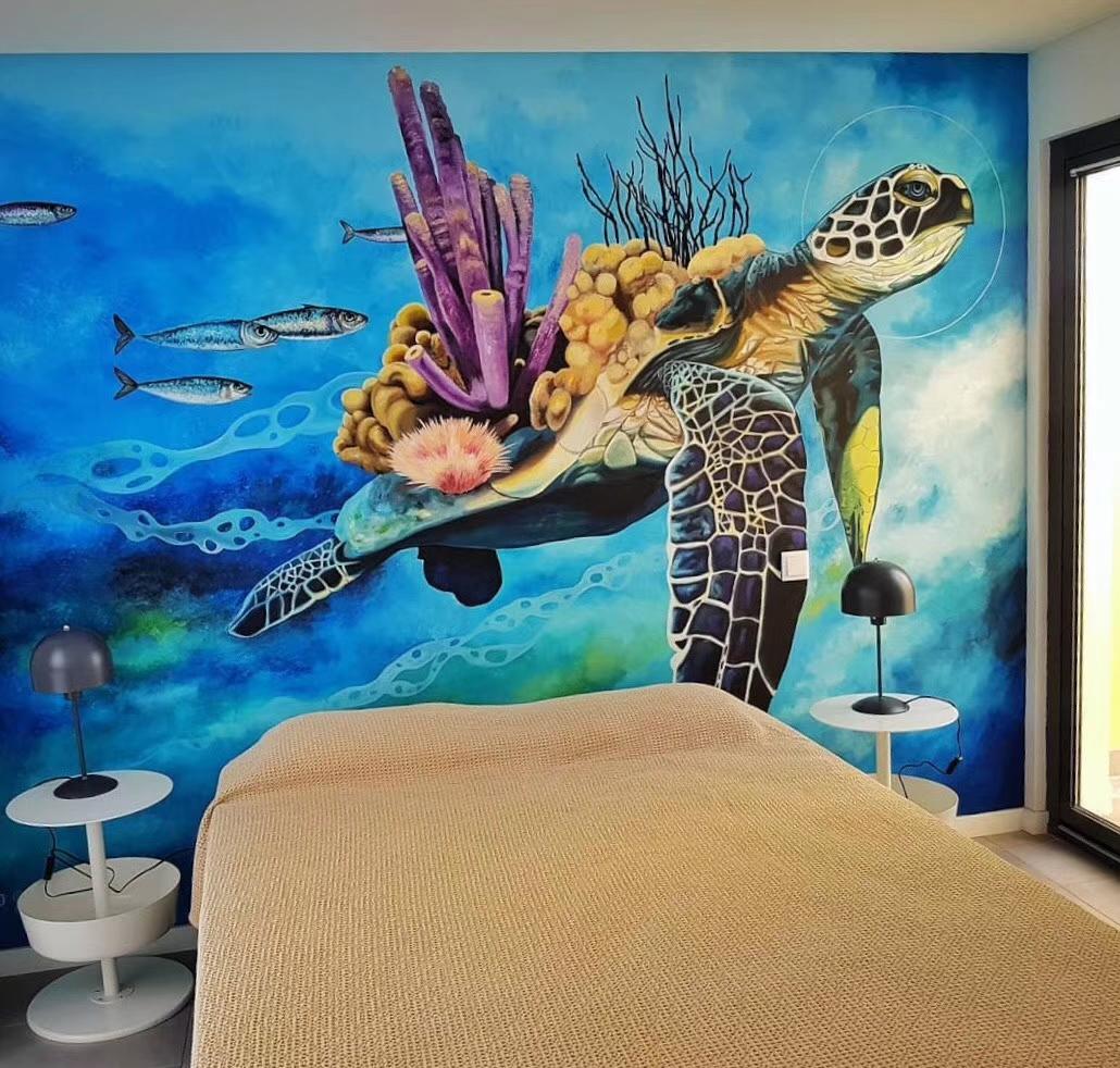 3D手绘墙和手绘墙有什么区别