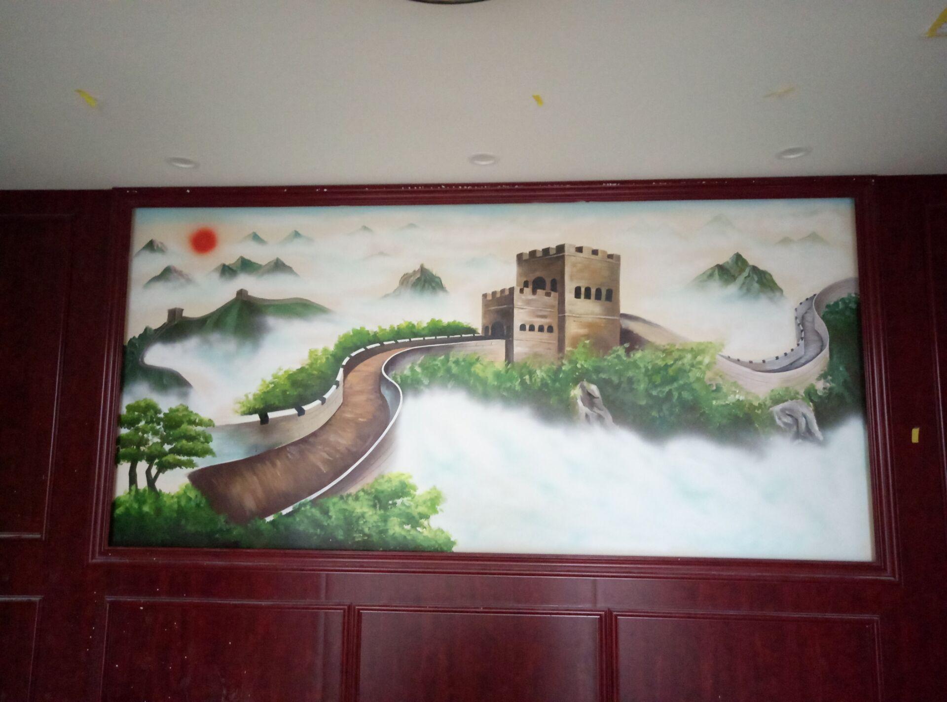 手绘墙画用什么颜料比较好?