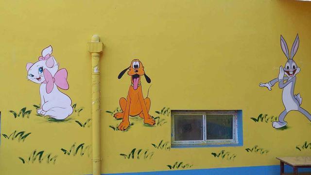 幼儿园墙面彩绘及其注意事项