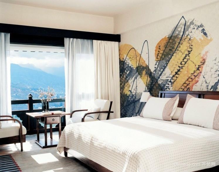 墙体彩绘(又叫墙画)是近年来居家装饰的潮流