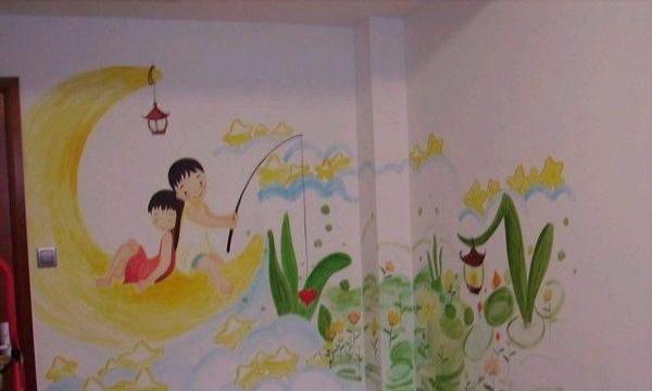 分享一下手绘墙画的一些详细步骤