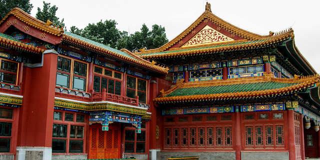 南昌幼儿园墙体绘画,南昌古建筑手绘,南昌手绘古建筑