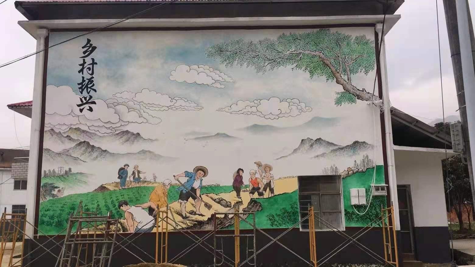 南昌墙体彩绘,南昌涂鸦墙,南昌墙体喷绘广告,南昌墙壁绘画