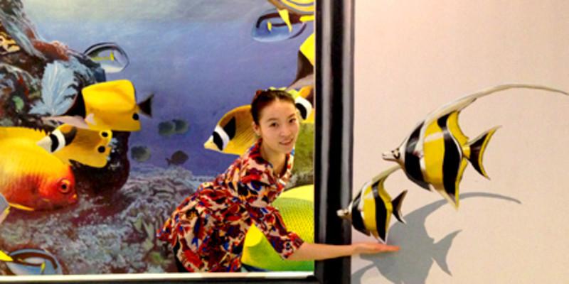 南昌3d立体画墙绘,南昌背景墙墙绘,南昌彩绘墙体,南昌墙绘工作室