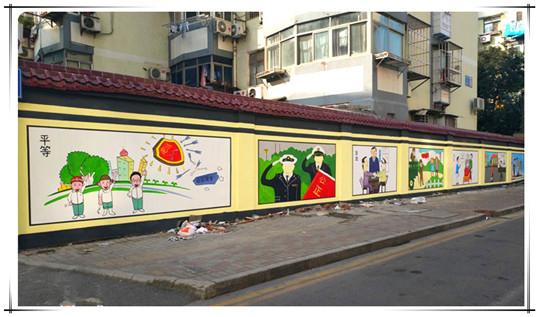 南昌文化墙彩绘,南昌涂鸦手绘墙,南昌手绘墙涂鸦,南昌墙绘手绘