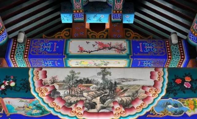 南昌幼儿园涂鸦,南昌墙面涂鸦,南昌室外墙体喷绘,南昌彩绘古建