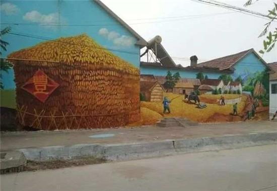 南昌墙壁手绘,南昌乡村文化墙彩绘,南昌墙体彩绘涂鸦,南昌彩绘墙