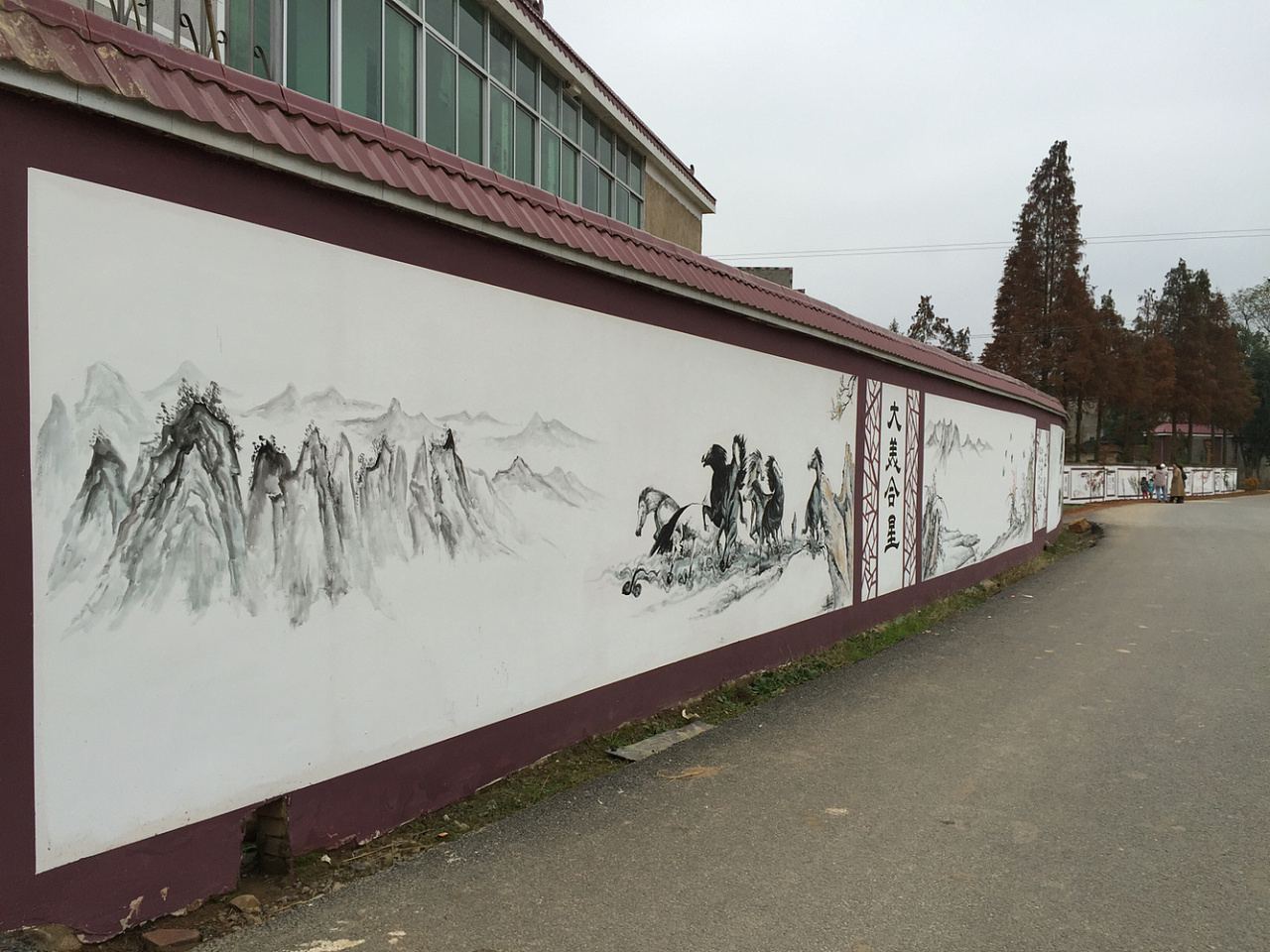 南昌彩绘墙画,南昌涂鸦墙幼儿园,南昌户外墙体喷绘广告,南昌墙体广告喷绘